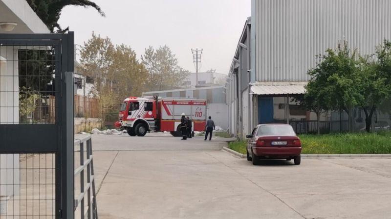 Geri dönüşüm fabrikasında yangın çıktı!