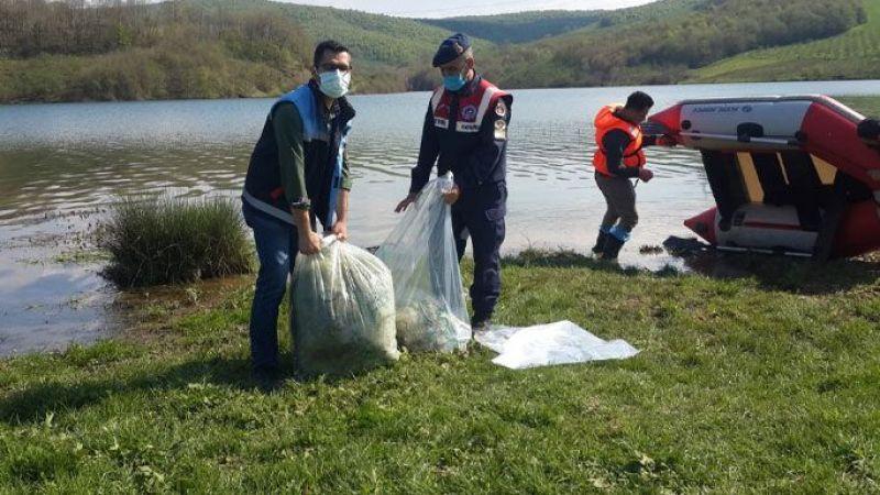 Hayvan dostu Jandarma su canlılarını korumaya aldı