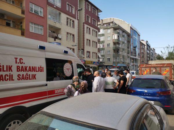 Kocaeli'de motosikletin çarptığı çocuk yaralandı