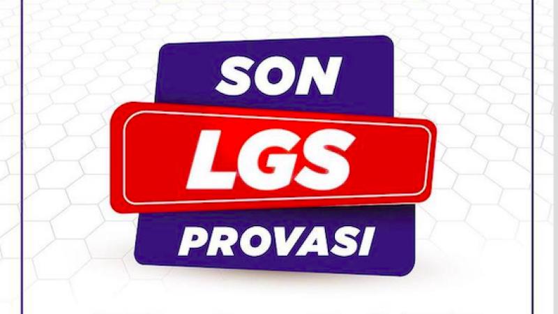 Son LGS provasıNesibe Aydın'da