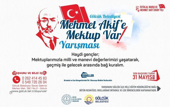"""""""Mehmet Akif'e Mektup Var"""" yarışmasına başvurular sürüyor"""