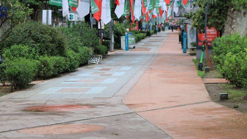 Kocaeli sokaklarında yasak sessizliği!