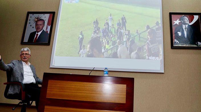 """AK Parti, toplantıyı yarıda kesti, müthiş finale kitlendi: """"Mutluyuz, gururluyuz, Kocaelispor'luyuz"""""""