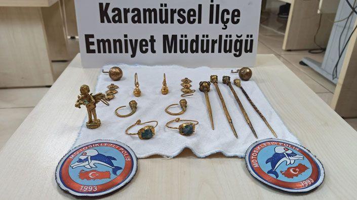 Kocaeli'de milyonluk tarihi eser operasyonu!