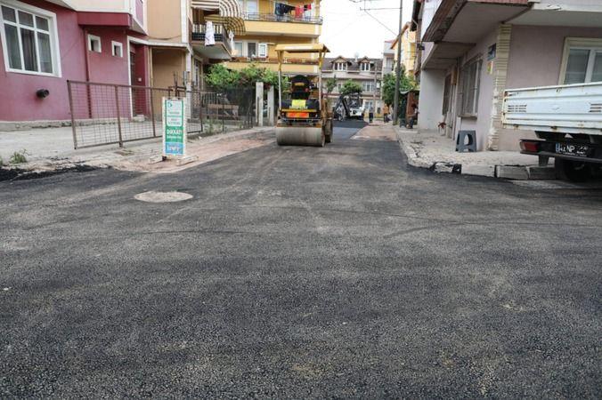 Yenişehir'de Ergin Sokak yeni görünümüne kavuştu