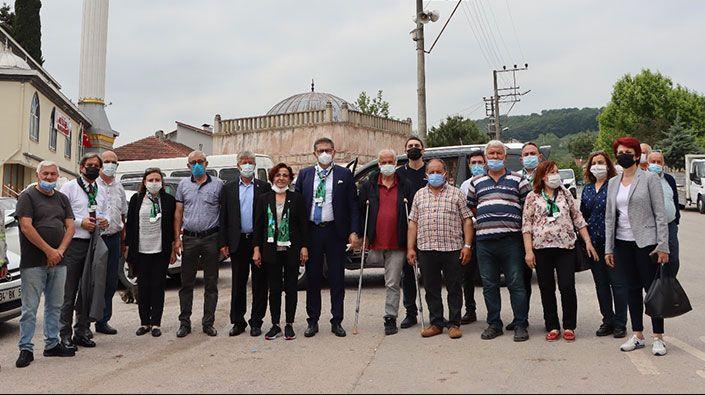 Bitmek bilmeyen elektrik kesintilerine Akmeşeliler isyan bayrağını çekti