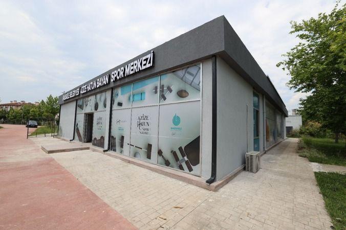 Azize Hatun Kadın Spor Merkezi yeni yerinde hizmete hazır