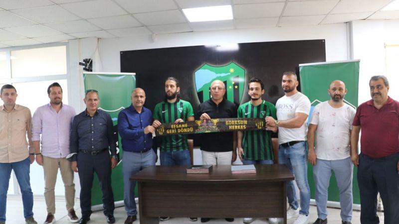 Kocaelispor 2 yeni transferiyle sözleşme imzaladı