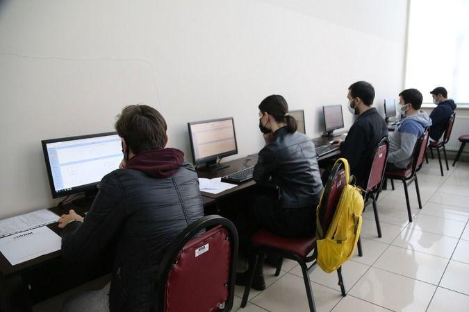 Ustam'da mesleki yatkınlık sınavları yapıldı
