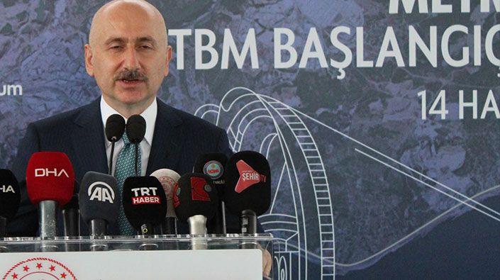 Ulaştırma Bakanı Adil Karaismailoğlu; Gebze-Darıca metro hattı 2023 yılında hizmete girecek