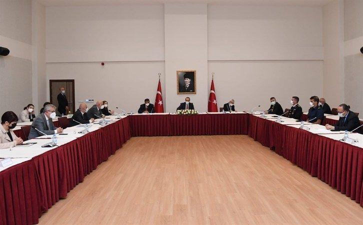 Marmara Denizi Eylem Planı Kocaeli Koordinasyon Merkezi Toplantısı yapıldı