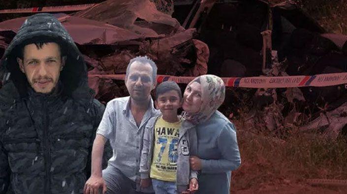 5 kişilik aileyi yok eden sürücüye 16 yıl hapis cezası!
