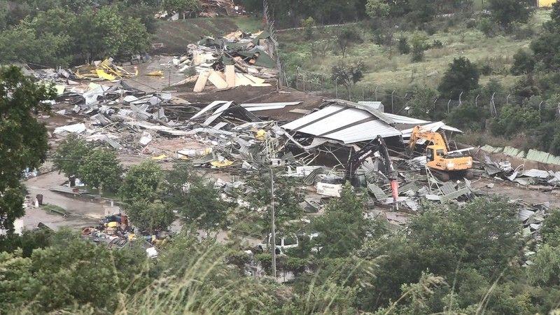 Lütfü Türkkan'ın çiftliğinde yıkım tamamlandı
