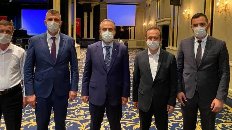 Sezer, Sağlıklı Kentler Birliği Başkan Vekilliğine tekrar seçildi