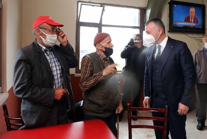 """""""Tahir Başkanımıza, akaryakıt desteği için teşekkür ediyoruz"""""""