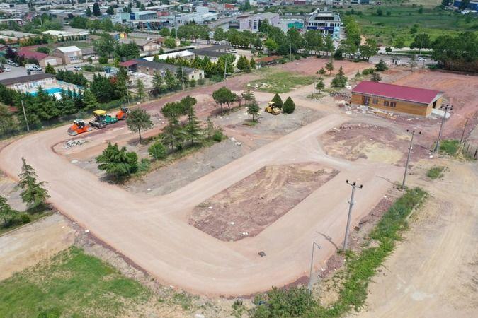 Trafik Eğitim Parkı'nda sıra parkurda