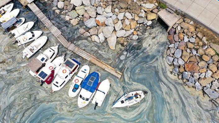 Kocaeli'de denizi kirleten işletme ve gemilere 869 bin ceza!