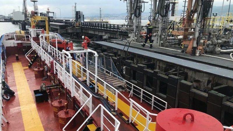 Çevreyi kirleten tankere 530 bin TL ceza