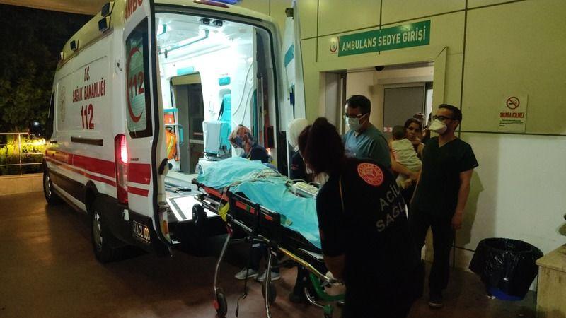 Otomobilin çarptığı yaya ağır yaralandı!