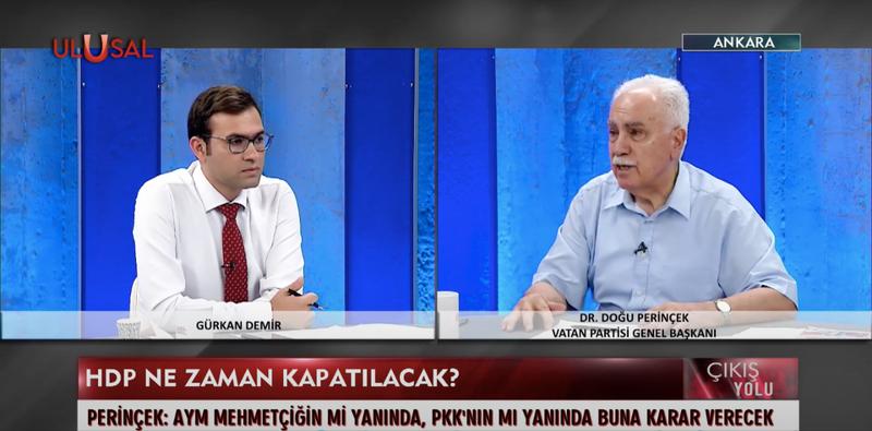 Perinçek: Anayasa Mahkemesi Başkanı'nın istifası için kampanya başlatıyorum
