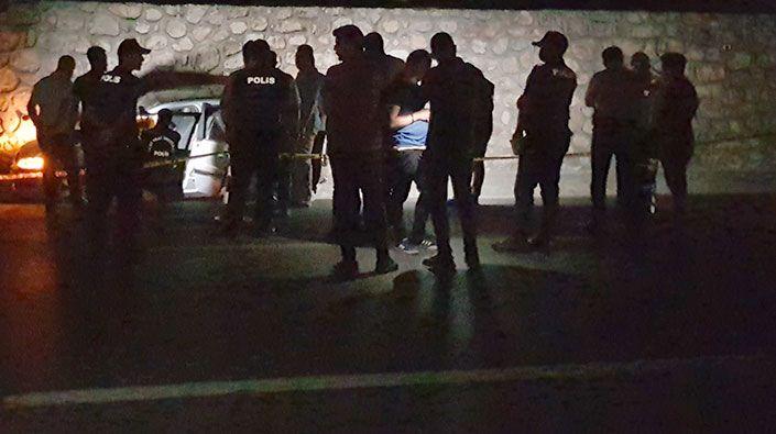 Seyir halinde sürücüyü öldürmüşlerdi… Cinayet zanlısı 4 kişi yakalandı!