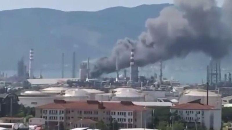 TÜPRAŞ'tan dumanlar yükselmişti… TÜPRAŞ'TAN yangın açıklaması