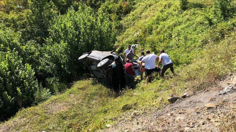 Değirmendereli çift feci kazada hayatını kaybetti