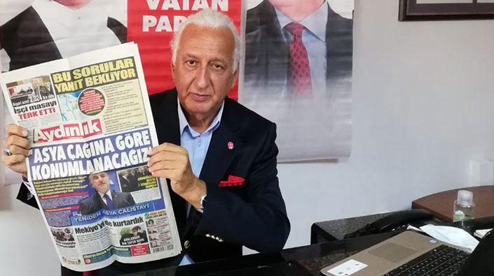 """Meclis'te olmayan partiler konuşuyor… """"Türkiye cephesine kim gelirse gelsin Vatan Partisi orada olacak"""""""