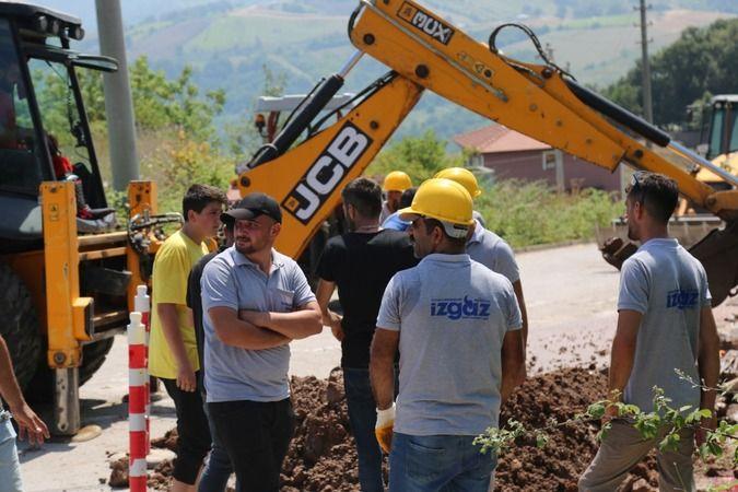 Nimetiye, Nüzhetiye ve Hasaneyn köylerine doğalgaz geliyor