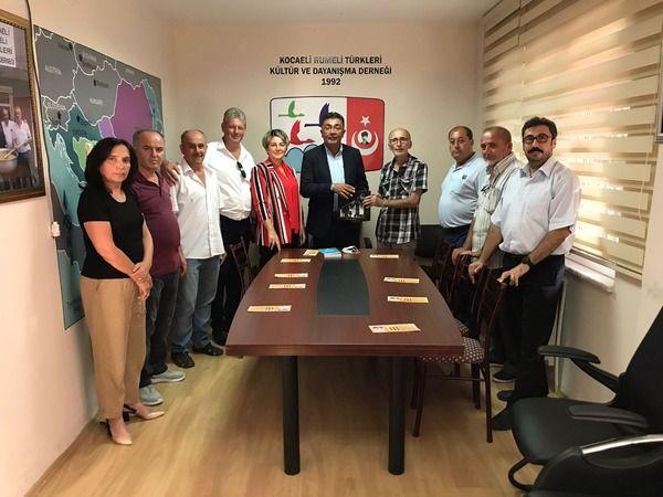 İYİ Parti, Kocaeli Rumeli Türkleri Kültür ve Dayanışma Derneği'ni ziyaret etti