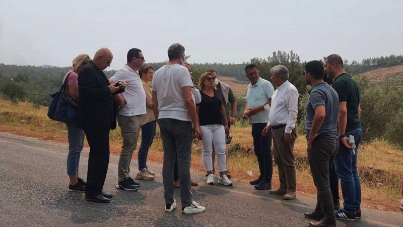 İYİ Parti Kocaeli teşkilatı destek için Muğla'ya gitti