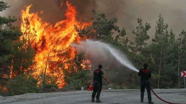 Marmaris'teki yangınlar kontrol altına alındı!