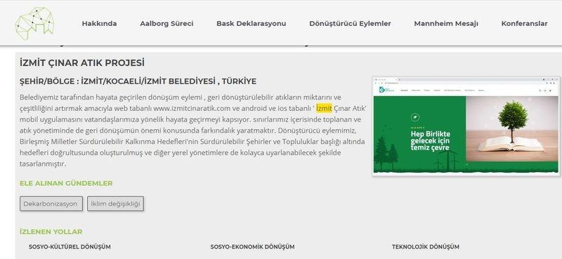 İzmit Belediyesi Çınar AtıkAvrupa'da yarışacak