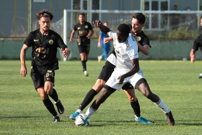 Darıca GB Beşiktaş'ı 2-0 ile geçti