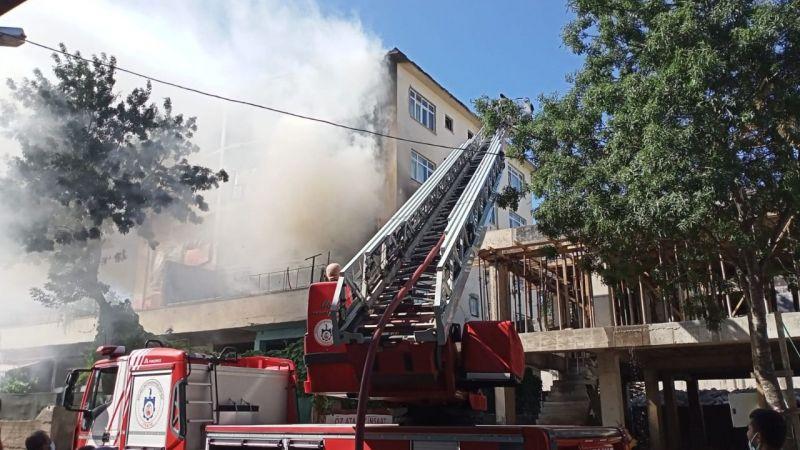 Suriyelerin evinde yangın çıktı!