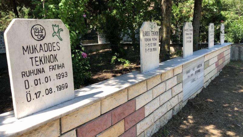 Aynı aileden 9 mezar yan yana… Hepsinin ölüm tarihi aynı; 17 Ağustos!