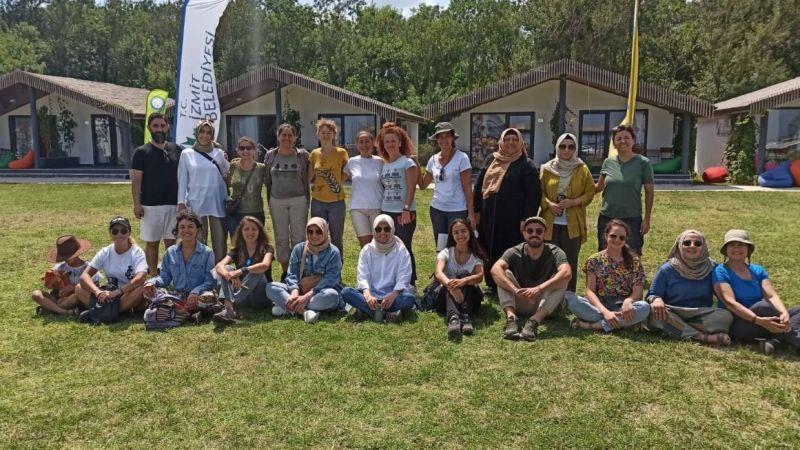 Sarısu Gençlik Kampı Türkiye'nin dört bir yanından öğretmenleri ağırladı