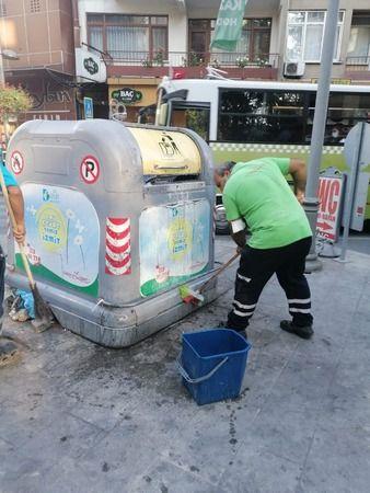 İzmit'te çöp konteynerleri hijyenle buluşturuluyor