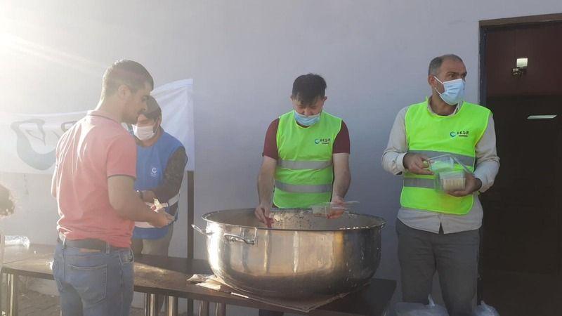 Beşir Derneği, Körfez'de 4 bin adet Aşure Dağıttı