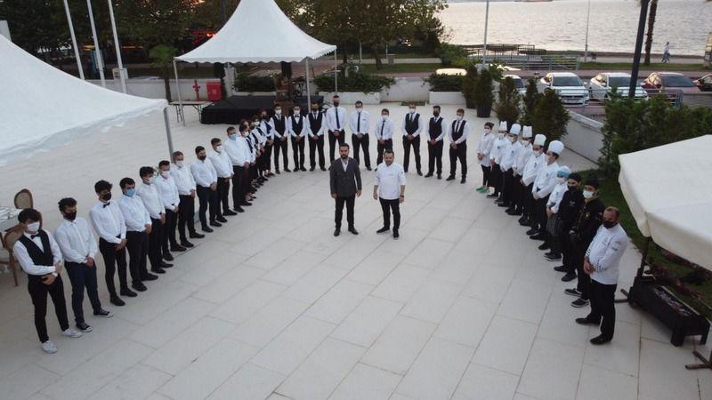 Wyndham'a Kuveyt Meclis Başkanı El-Ganim ve Kuveyt Ankara Büyükelçisi Al-Zawawi geldi