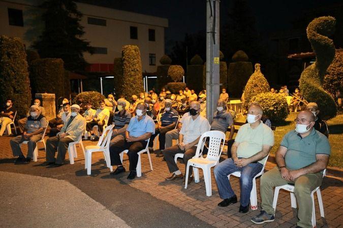Deprem Şehitleri Kullar Merkez Camii'nde dualarla anıldı