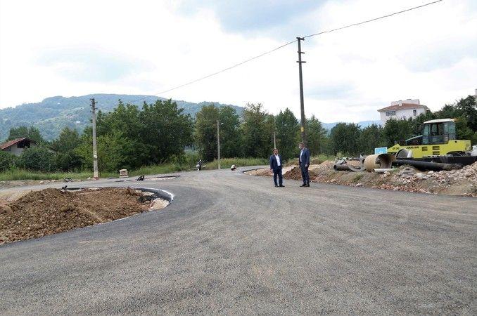 İpek Yolu Bulvarı kavşak düzenlemesi projesi tamamlanıyor