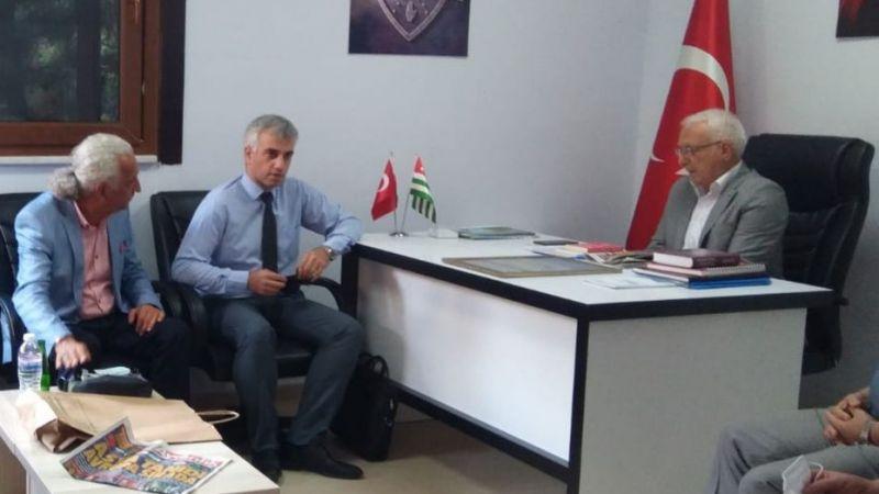 Vatan Partisi'nden Abhazya Derneği'ne ziyaret