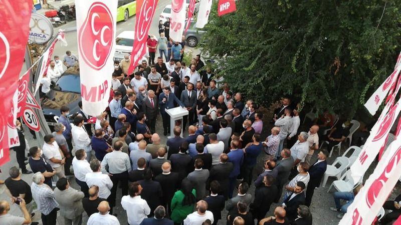MHP Gebze ve Darıca'da gövde gösterisi yaptı!