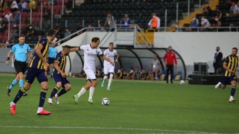 Kocaelispor Ankara'dan beraberlikle döndü: 0-0