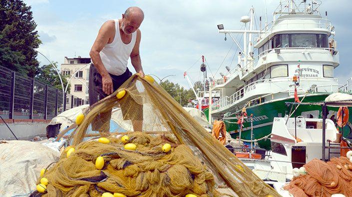 Kocaeli'de balıkçılar yeni sezon için gün sayıyor!