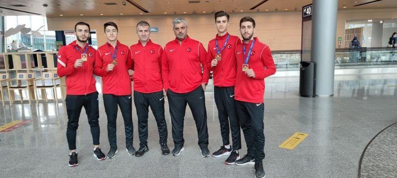 Karateciler Avrupa şampiyonasından 4 madalya çıkardı