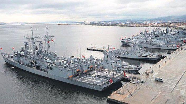Donanmada önemli görev değişimleri!