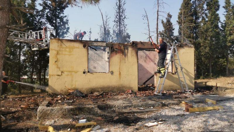 Dilovası'nda evde çıkan yangın söndürüldü!