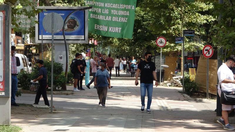 Mavi kategoriye giren Kocaeli'de, aşı olan vatandaşlardan çağrı